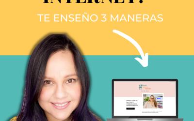 ¿Quieres Poner Tu Negocio En Internet? – Te enseño como